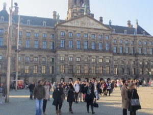 Dam Palast Amsterdam