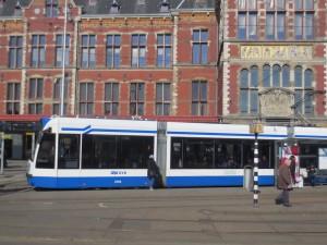 Strassenbahn öffentliches verkehr Amsterdam